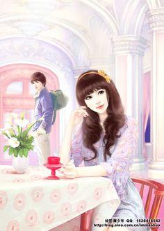 Cute Couple Cartoon, Cute Cartoon Pictures, Cute Couple Art, Anime Love Couple, Cute Couple Pictures, Cute Anime Couples, Sweet Couple, Heart Pictures, Love Wallpapers Romantic
