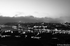 Best view of the city, black and white version   Porto, Portugal