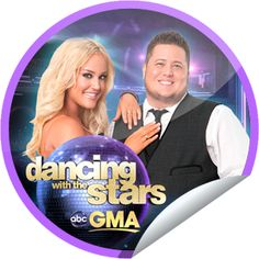 DWTS on GMA on October 26! Sticker | GetGlue