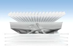 Design Unveiled for the Broad Museum by Diller Scofidio + Renfro,Courtesy of Diller Scofidio+Renfro