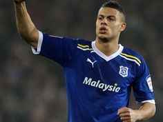 Rudy Gestede, French-Beninese footballer who plays as a striker for Cardiff City, Welsh club. He also plays for Beninese National Football Team. He has played for Metz and Cannes, in France.