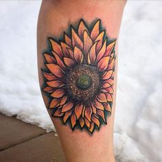 Photo by (danibuzz_) on Instagram | #beautiful #sunflowertattoo #legtattoo #flowertattoo #sunflowerpower #scarcoverup #scarcoveruptattoo #colorfultattoo #eternalinks #eikondevice #borgtattoomachines #overthissnow #byewinter #wildflowers #coveruptattoo #darbstertattoos #colortattoo #colortattoos #stencilstuff #medtatt #tatsoulneedles Scar Cover Up, Colorful Tattoos, First Tattoo, Color Tattoo, Leg Tattoos, Wildflowers, Tatting, Tattoo Designs, Beautiful