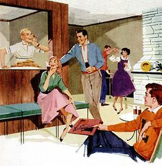 Rumpus Room - 1960 http://www.pinterest.com/prairie71/mad-for-mid-mod/