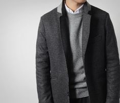 Fall business casual look for fellas via Death by Elocution #menswear