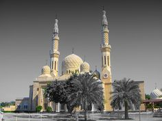 This is the Temple that that the people in the UAE go to. The temple is called Mosk. It is just like a church.