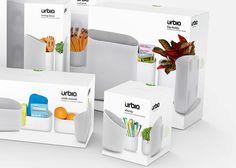 Before & After: Urbio — The Dieline - Branding & Packaging