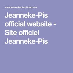 Jeanneke-Pis official website - Site officiel Jeanneke-Pis