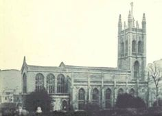 St Saviours Church, Larkhall. Date unknown. This view is not now possible as the houses on Wallace Road have been built since. Somerset, Old Pictures, Savior, Notre Dame, Dating, Houses, Bath, Building, Travel