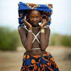 Mucubal woman - Angola by Eric Lafforgue, via Flickr