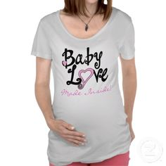 Maternity  Baby Love Shirt