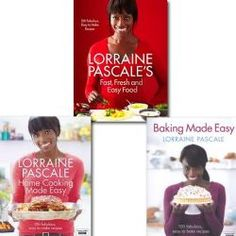 Lorraine Pascales Fast, Fresh and Easy Food, collection 3 cook book set. (Fast, Fresh and Easy Food,    Buy it: http://www.bookbundles.co.uk/lorraine-pascales-fast-fresh-and-easy-food-collection-3-cook-book-set-fast-fresh-and-easy-food-61537-p.asp#