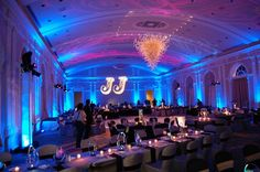 A perfectly lit Bar Mitzvah!    http://www.facebook.com/pages/Showorks-Events/113452715336