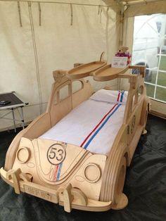 Home Room Design, Bed Design, Sofa Furniture, Kids Furniture, Jeep Bed, Kids Play Equipment, Diy Toddler Bed, Childrens Beds, Bed Plans