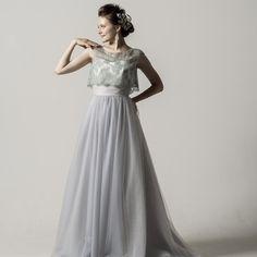 Colette / soft Aline (コレット / ソフトAライン) | COLLECTION | Verde(ヴェルデ)|レンタルウェディングドレス・オートクチュールドレス