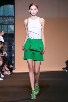 A look from the Roland Mouret Spring 2015 RTW collection.
