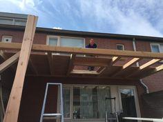 Overkapping met lichtkoepel - Overkapping Specialist Brabant Garage Doors, Outdoor Structures, Garden, Outdoor Decor, Home Decor, Terrace, Balcony, Garten, Lawn And Garden