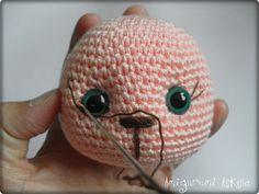 Knitting Amigurumi Love of My toys: learn Amigurumi