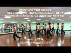 Wonderland Waltz  linedance