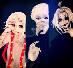 Juuzou Suzuya and other characters @DaraenSuzu