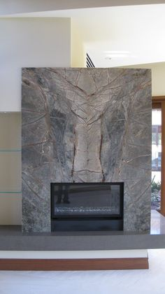 ideas for the house on pinterest stone fireplace wall