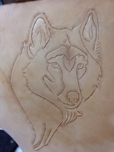 Wolf - Leather and other Eye catching ideas -