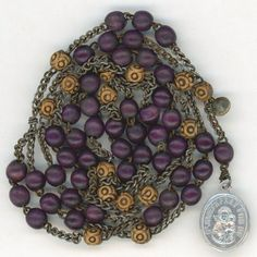 Rare Early 1900s Chaplet of St. Joseph – France from vintage-venerations on Ruby Lane