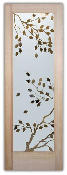 50 Ideas house front door glass bathroom windows for 2019 Etched Glass Windows, Etched Glass Door, Frosted Glass Door, Glass Etching, Frosted Window, Glass Pantry Door, Glass Front Door, Front Doors, Glass Doors