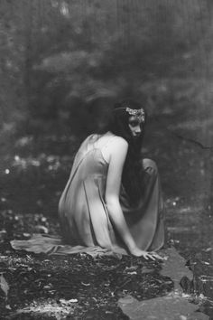 Could be the selkie spirit in The Selkie Spell searching for her pelt late at night while everyone else is asleep.