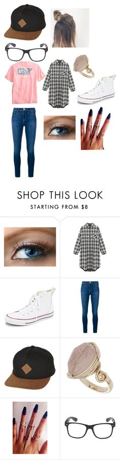 """""""What I want"""" by natashaxmas on Polyvore featuring Vineyard Vines, Converse, Frame Denim, Globe and Topshop"""