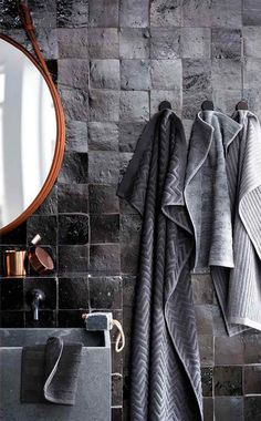lthough I'm still very happy with our marble bathroom with black…