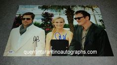 My Quentin Tarantino Autograph Collection: Quentin Tarantino, Brad Pitt and Diane Kruger of I...