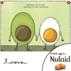 Sometimes love is blind... Who agrees? Love is certainly not always explicable #love #romance #eggfunnies #tbt