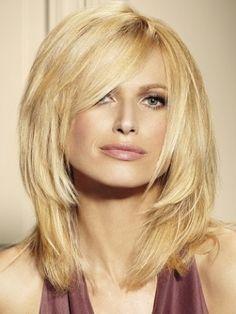 Shoulder-Length Medium Hairstyles 2012