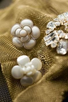 diamond + pearl broaches.