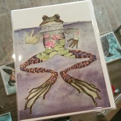 www.facebook.com/jewelsdroitwich. Jewellery and gift shop. New cards in stock! #newstock #cards #frog #jewelsdroitwich #droitwich #Worcestershire