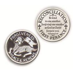 Forgiveness is a gift: First Reconciliation Token.