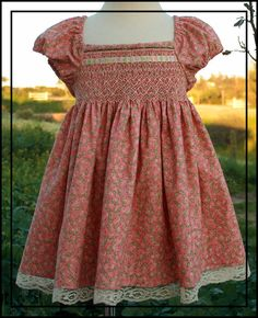 Wow, FREE Prairie dress PDF file, with full instructions, generous share: thanks so xox