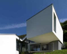 Contemporary House Design by Davide Macullo in Carabbia, Switzerland Urban Design, Architecture Design, House Design, Switzerland, Architects, Mansions, House Styles, Contemporary Homes, Outdoor Decor