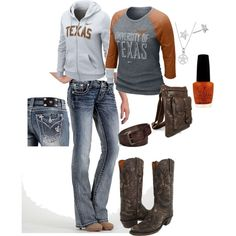 Outfit - Texas Longhorns