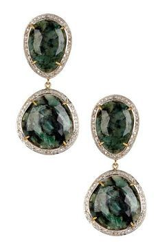 Image result for sliced earrings drop