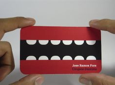 (creative) Business Cards   by elBarbon , via Behance