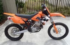 2006 KTM 250SXF. Tim's new bike.