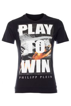 WELCOME TO VEGAS! This glamorous t-shirt is perfect for real players!  Browse the complete Philipp Plein collection online at Boudi UK. Philipp Plein is pure luxury with his latest Menswear Collection embodying the designers rebel streak, and glamourous ideals making the Philipp Plein brand instantly recognisable.    SS14-HM341318