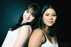 Kristel and Marina Portrait, Portrait Illustration, Portraits, Head Shots