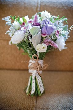 Vintage-inspired bouquet. Photo by Verve Photo Co.