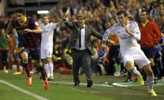 Rush for Copa Del Ray One of THE BEST Photos.