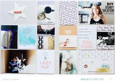 Brimfield Project Life Kit Only Spread by AllisonWaken at @studio_calico