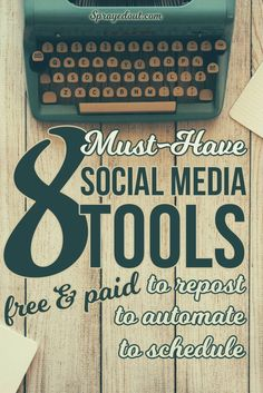 Feeling tired of spending too much time on social media trying to find great content to share, repost your old blog posts or simply schedule great content? You must check these social media marketing tools, they will make your life much easier! I bet you