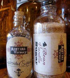 Gourmet Sugar Set – Four-Bean Vanilla & Lavender