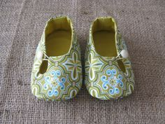 Otto Baby Shoes PDF Pattern Newborn to 18 por littleshoespattern